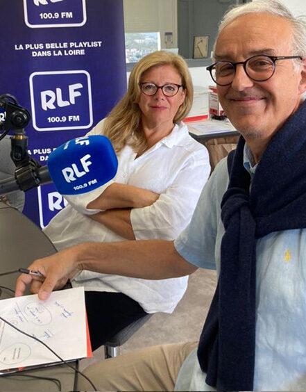 Au programme de l'entrevue avec Philippe Baury